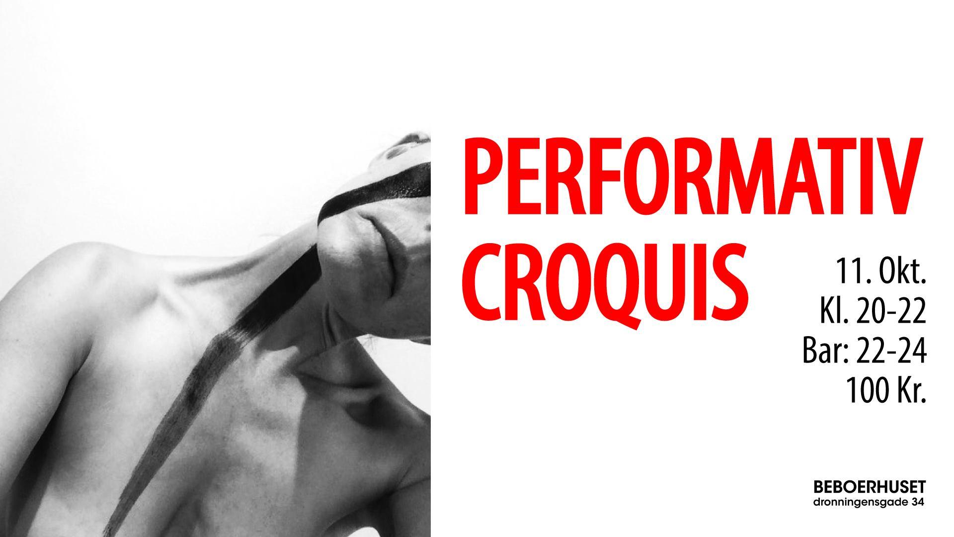 Performativ Croquis – Christianshavns Beboerhus and Shock – Kbh