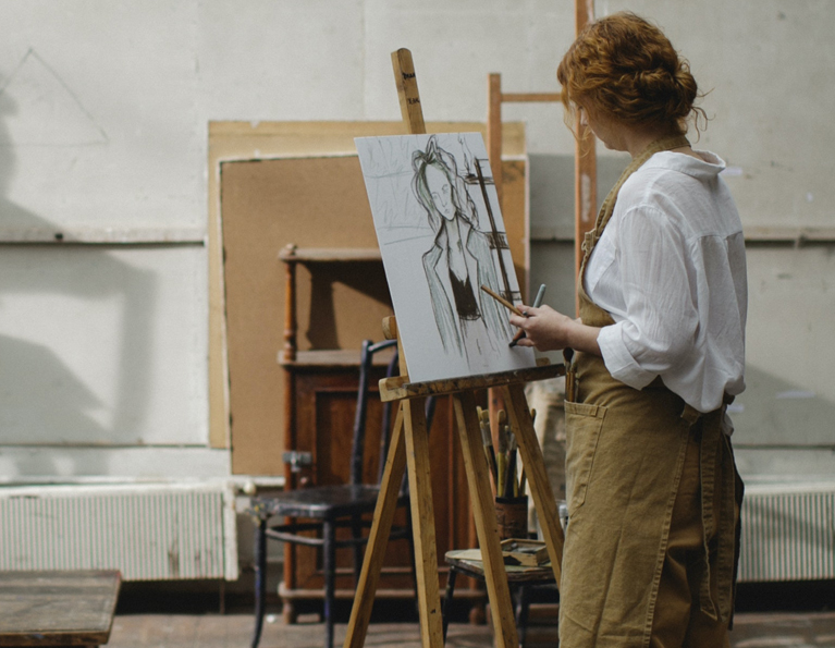 Croquis Tegning for Kvinder i Aalborg